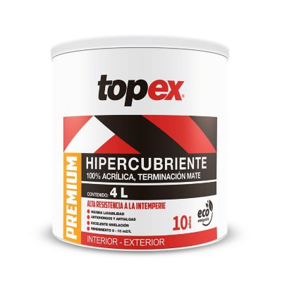 Pintura Topex Premium Base Tint 4L