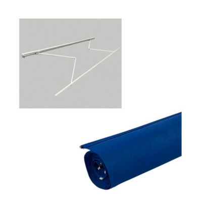 Combo  Estructu toldo 2.90x2mt, s/cob + Tela Toldo Azul 2.90X2.0