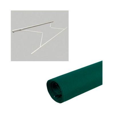 Combo  Estruc toldo 3.95x2.50mt s/cob + Tela Toldo Verde 3.95X2.5