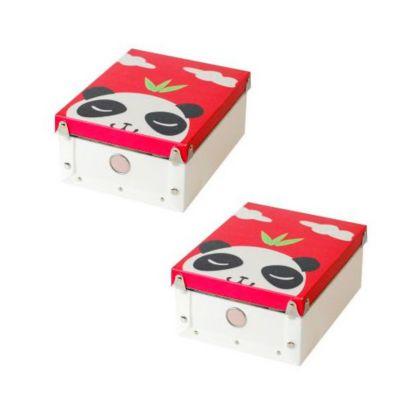 Combos  2 Caja panda organiza 23x18x10