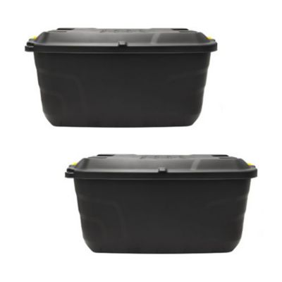 Combo  2 Caja plástica Heavy Duty 75 lt