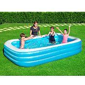 (Regular S/.169.9) Piscina inflable Family 305x183cm