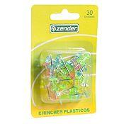 Chinches plásticos 30 unid.