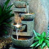 Fuente de agua Granada