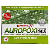 Kit auropoxi 210 base zinc 1 gl