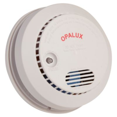 Detector de humo con bater a 9 v opalux 2008424 - Detectores de humos ...