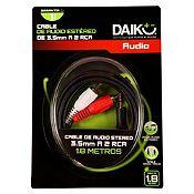 Cable de Audio Estéreo 3.5 mm