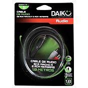 Cable de Audio RCA 3.5 mm 2 Salidas