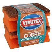 Esponja  antibacterial  x 2 und.