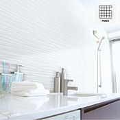 Cerámica Qatar blanca 34x60cm rendimiento: 1.43m2