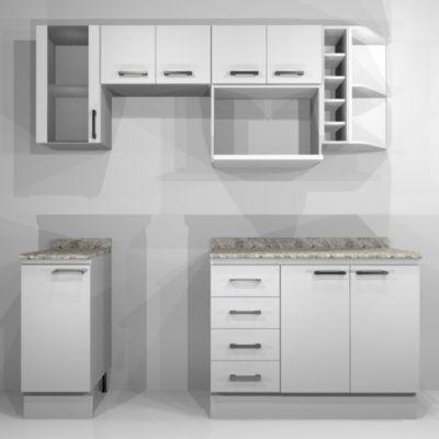 Proyecto Cocina Modular Bianco grande