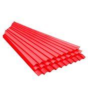 Techo de Polipropileno Rojo 1.10 x 3.00 m