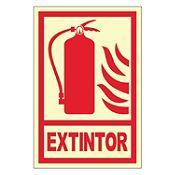 Señalización Extintor 20x30cm