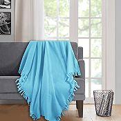Manta Polar Azul de 120x150cm