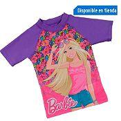 Polo de Lycra UV50 Barbie Morado