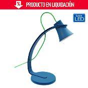 Lámpara de escritorio Led Mouse azul