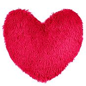 Cojín Corazón 45x45cm fucsia