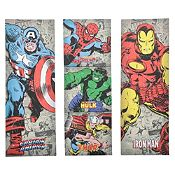 Set de 5 cuadros Super heroes