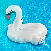 Cisne inflable Ride On