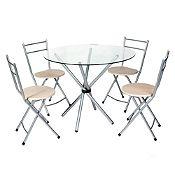 Juego de comedor Aperol 4 sillas