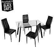 Juego de comedor 4 sillas - Sodimac.com.pe