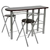 Comedor auxiliar 2 sillas