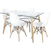 Juego de comedor Cananga 4 sillas