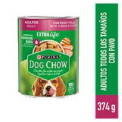 Dog Chow Adultos pavo y pollo 374gr