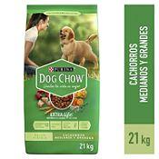 Comida para cachorro raza mediana y grande 21Kg