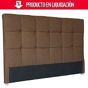 Respaldar de cama marrón 200x120x11 cm