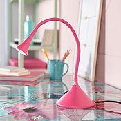 Lámpara de escritorio Eudor Led rosado