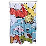 Cortina de baño Comic 178x180cm