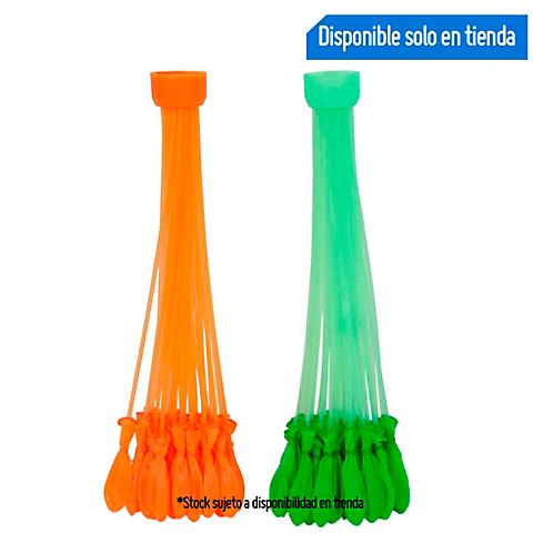 Juego De Globo De Agua Naranja Verde Sodimac Com Pe