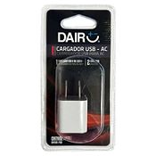 Cargador USB - AC 220 V Blanco