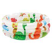 (Regular S/.19.9) Piscina para Bebé 3 Aros Dinosaurio