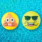 Flotador isla Jumbo Emoji