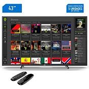 Televisor Smart LED Full HD 43¨ + Air Mouse