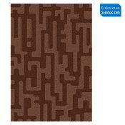 Alfombra Noblesse Cosy marrón 160x230 cm