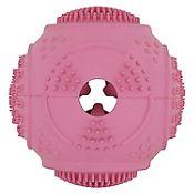 Pelota comedero rosada