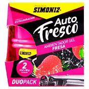 Ambientador Shick Gel Pack x2 Fresa