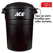 Basurero 121L Negro
