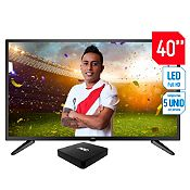 Televisor Digital LED Full HD 40'' LE40M1371 + Android Box