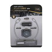 (Regular S/.69.9) Kit Apple Lightning para Carro