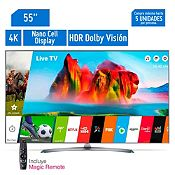 Televisor Smart Super Ultra HD 4K 55'' 55UJ7500