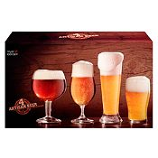 Set de 4 Vasos para Cerveza
