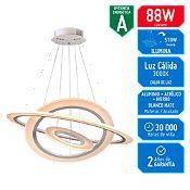 Lámpara Decorativa Led Saturno 440 Luces