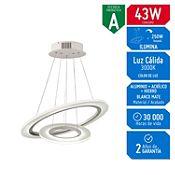 Lámpara Decorativa Led Rings 215 Luces