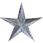 Estrella Colapsable Plata 60cm