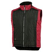 Chaleco Acolchado Negro-Rojo Talla XL