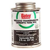Cemento PVC / CPVC Mediano 8 oz Negro